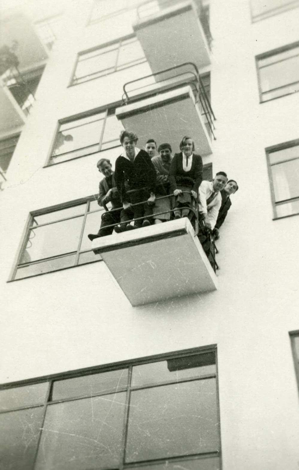 Dessau Bauhausköpfe (aus dem Bauhaus-Fotoalbum von Fritz Schreiber)  Copyright: Stiftung Bauhaus Dessau