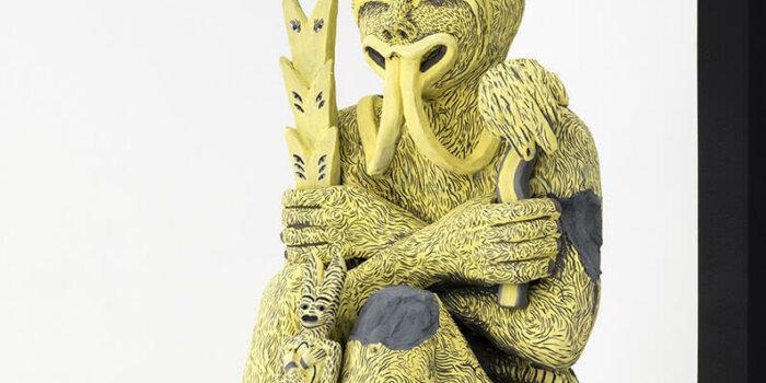 Sharon Van Overmeiren - Jujube, 2020, Ceramics, 90 X 55 X 30cm - Foto Lucie Drdova Gallery