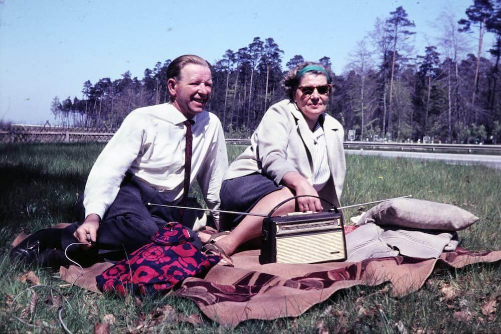Picknick mit Radio - 1968 © WDR Digit / Foto: Angel Lindfeld