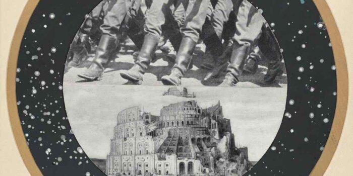 Jiří Kolář, Titulní List Souboru Babyluna, 1952, Foto MUO