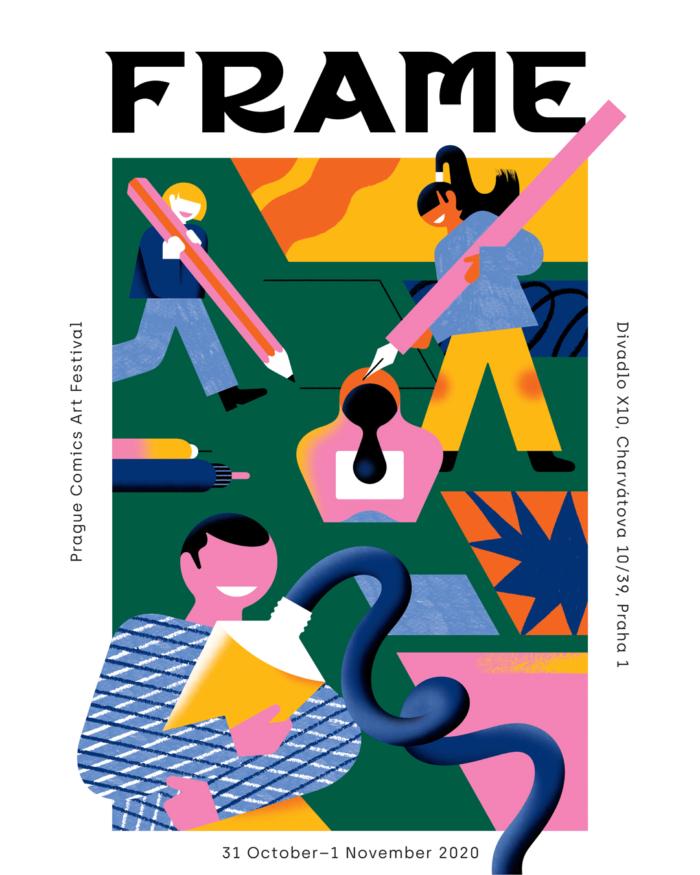 FRAME Prague Comics Art Festival 2020 Startuje Na Konci října