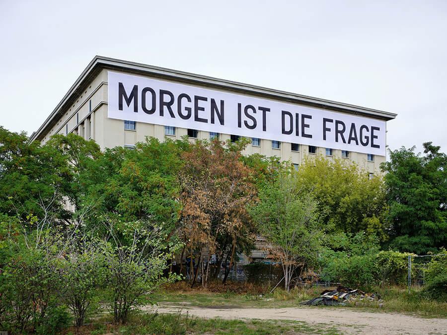 STUDIO BERLIN/Berghain, © Rirkrit Tiravanija, courtesy neugerriemschneider Berlin, Foto: Noshe