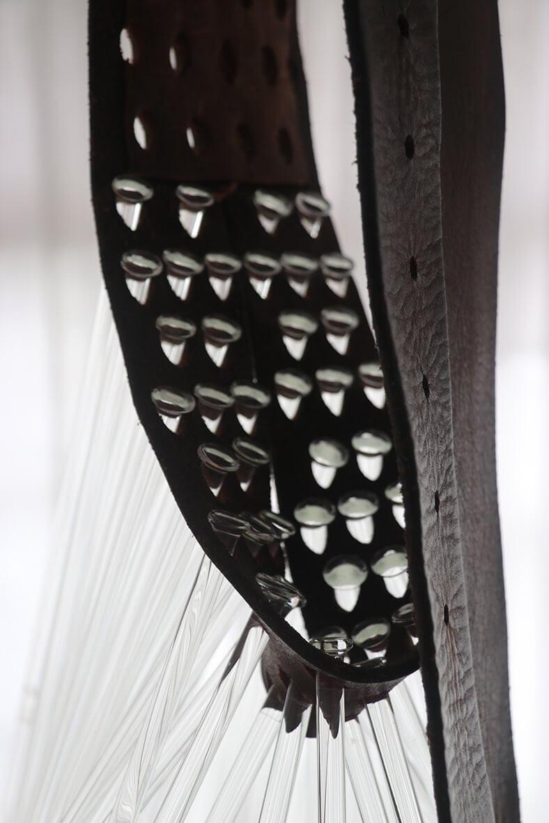 Juan Betancurth_ Belt Study No. 05_Detail / foto White Pearl gallery