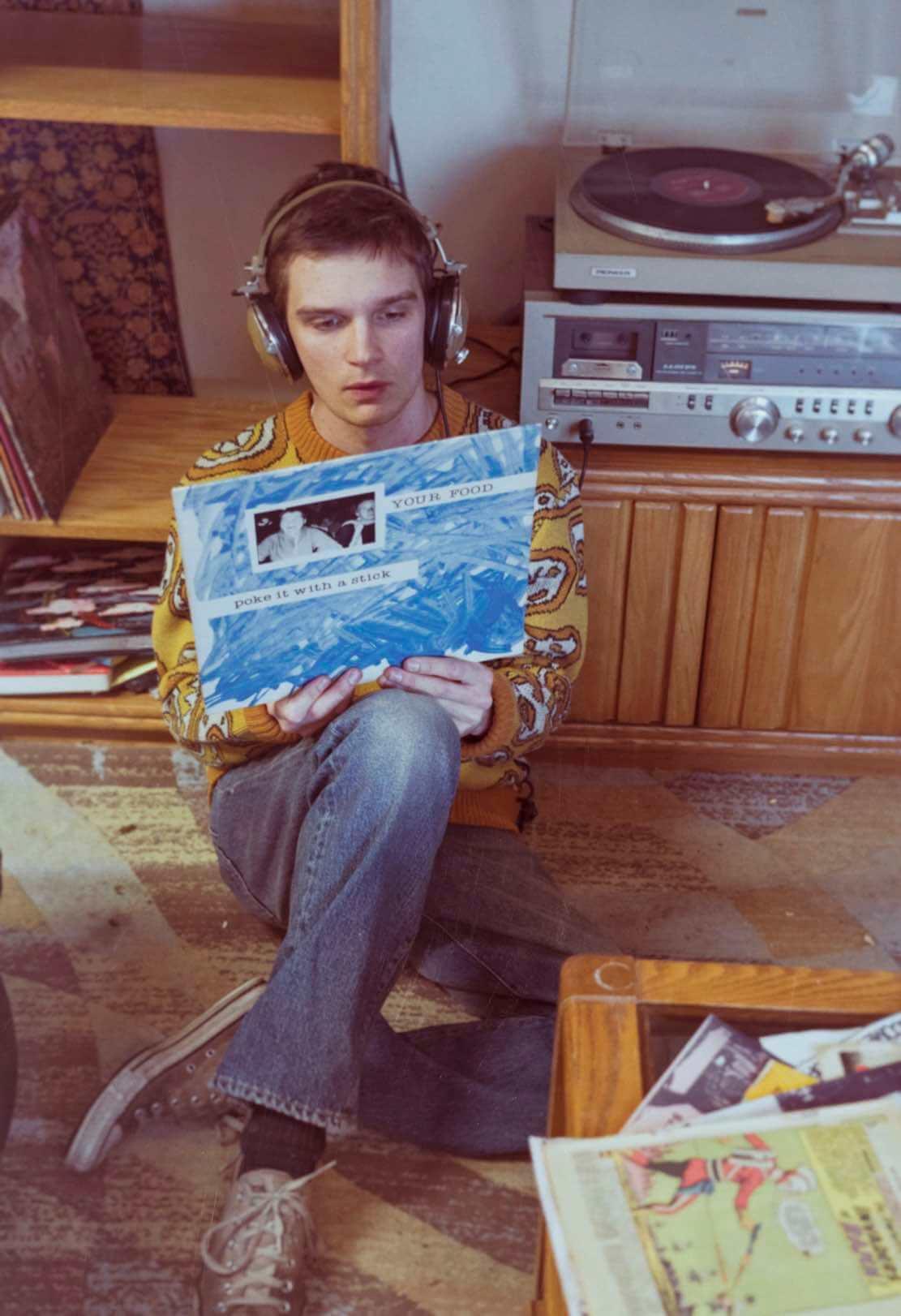 crewneck sweater, 1960s 503B ® Jeans, foto Levi's