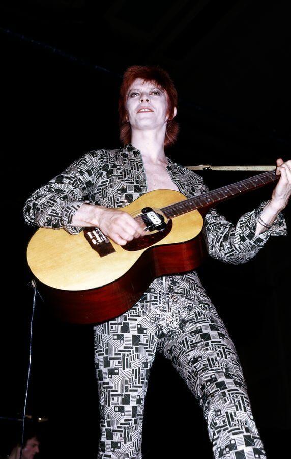 Ilustrační foto: david Bowie v roce 1972. / <a href=