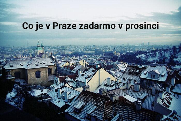 Co Je V Praze Zadarmo V Prosinci 2020