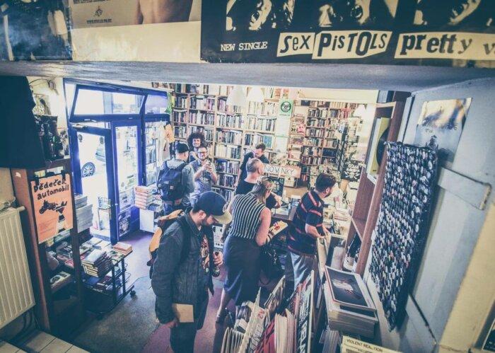 Where To Buy Vinyl In Prague