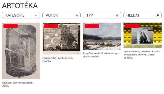 Stáhněte Si Online Edukační Listy Pro Domácí Tvorbu Od GHMP