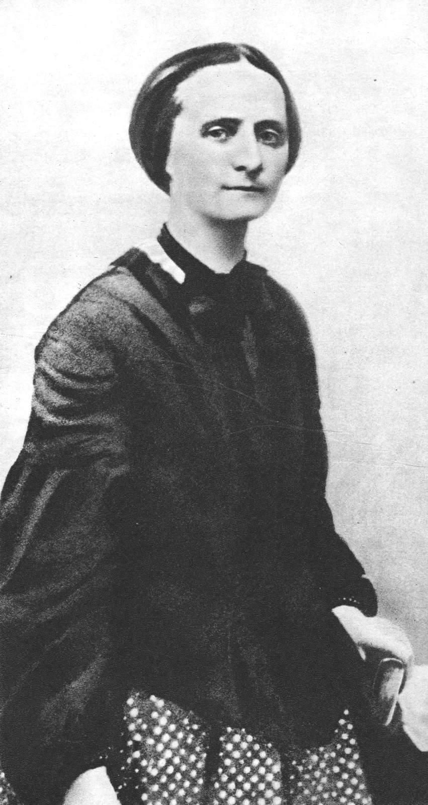 Božena Němcová. Public domain, via Wikimedia Commons