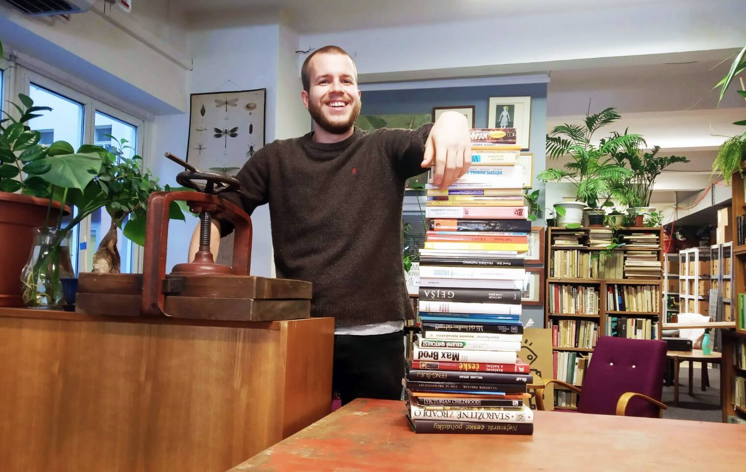 KNIHOBOT Dominik Gazdos Knihy