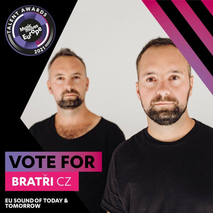 Elektronické Duo Bratři Ve Finále Evropské Soutěže Music Moves Europe Talent Awards