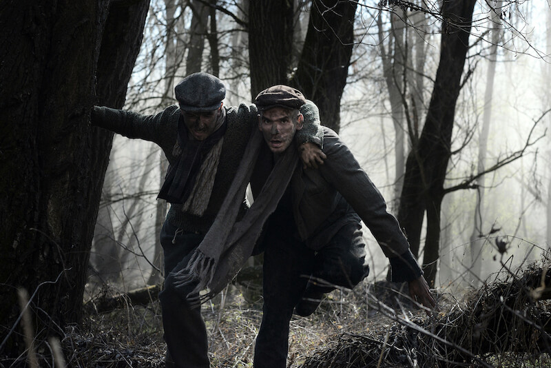 Foto z filmu Zpráva -Noel Czuczor a Peter Ondrejička