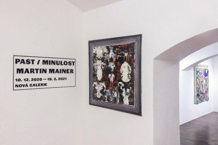 Výstava Martina Mainera V Nové Galerii
