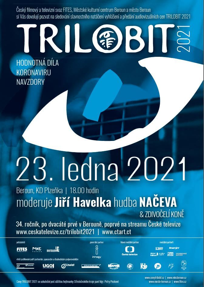 Vyhlášení A Předávání Audiovizuálních Cen TRILOBIT 2021
