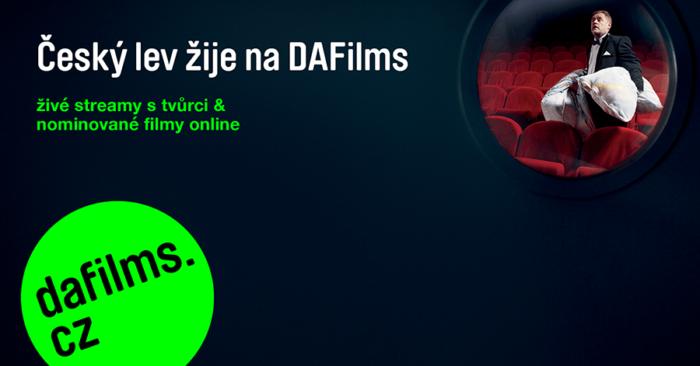 DAFilms: Přehlídka Filmů Nominovaných Na Českého Lva A Streamy S Režiséry
