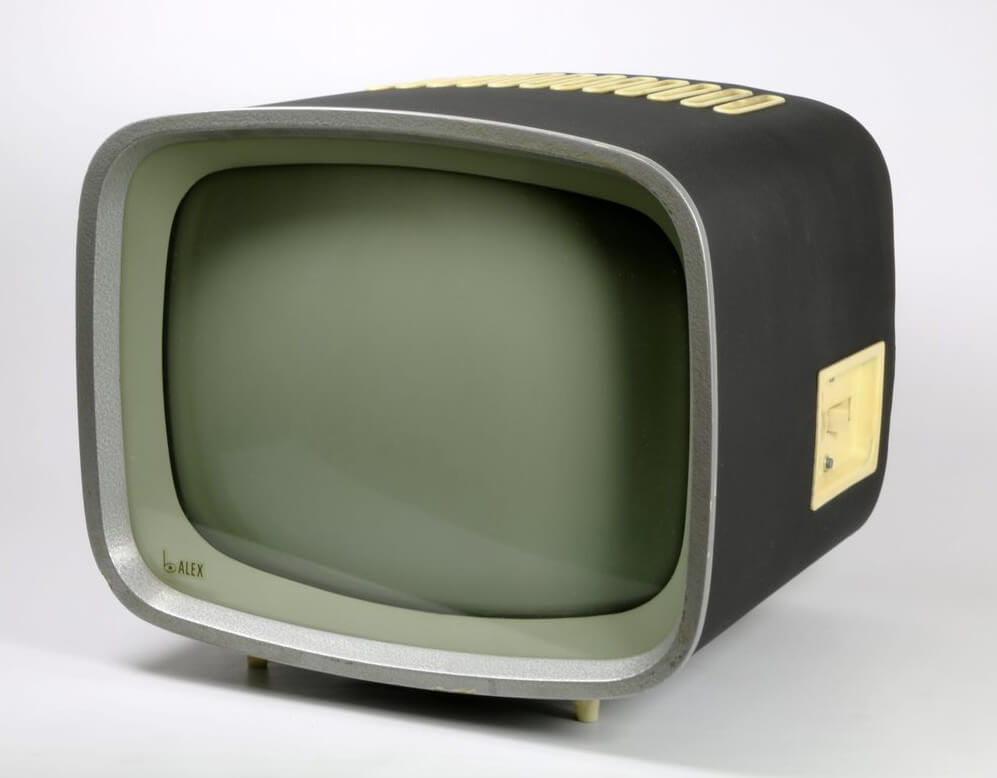 Horst Giese A Jürgen Peters, TV Set Alex, 1957 58, foto archiv Vitra