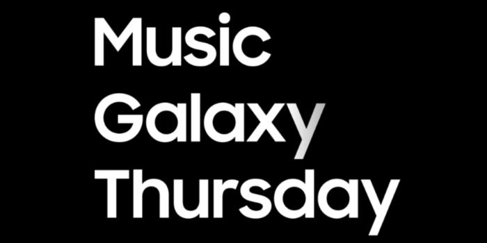 Samsung Music Galaxy Thursday Official Logo