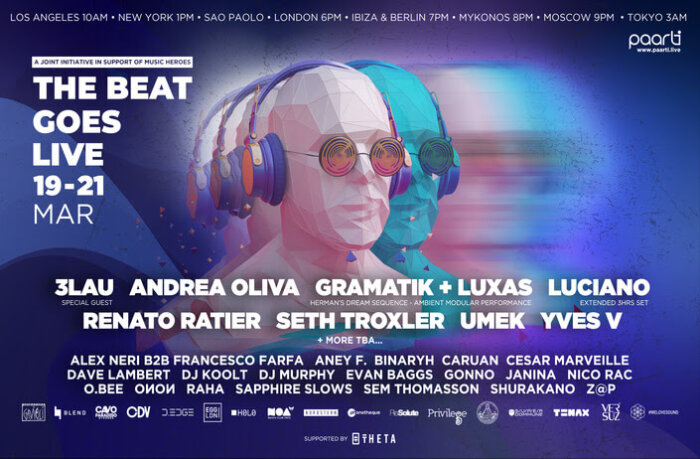 NEW LIVESTREAMING/NFT EVENT UNITING ELECTRONIC MUSIC VENUES