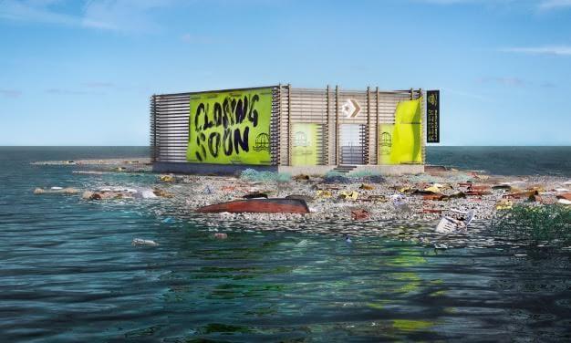 CONVERSE ALL STARS Otevírají První Virtuální Store Na Velké Tichomořské Odpadkové Skvrně. Cílem Je Zavřít Ho Co Nejdřív