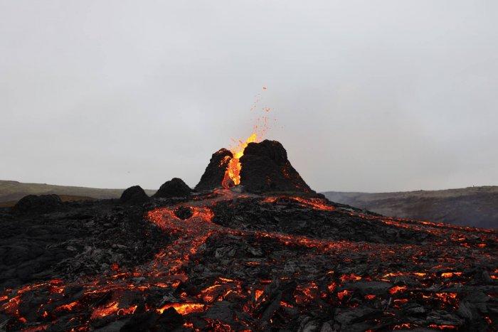 Sledujte Islandskou Sopku živě