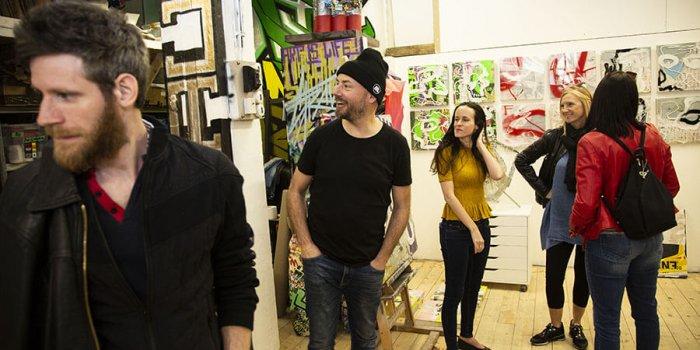 V Atelieru Davida Strausse Rozhon