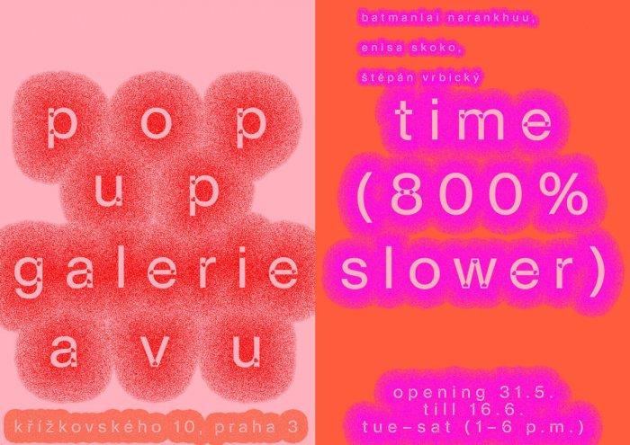 V POP-UP Galerii AVU Je Výstava O čase