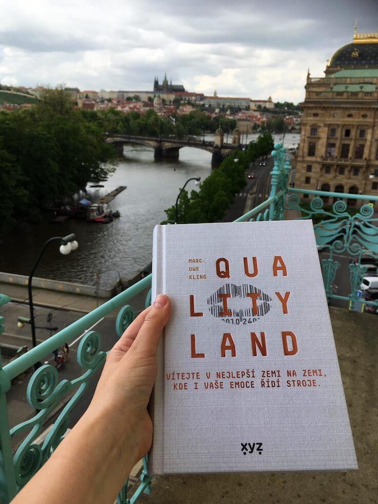 QualityLand. Foto Denisa Šelelyová, Goethe Institut