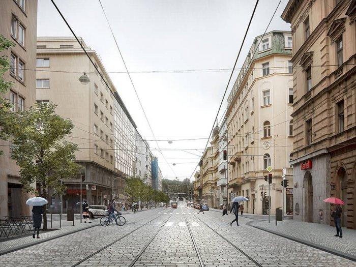 Revoluční Ulice Se Stane Novou Městskou Třídou.