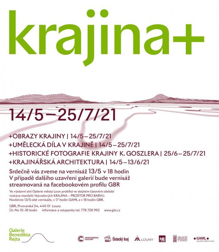 Galerie Benedikta Rejta Pořádá Druhý Výstavní Projekt Roku 2021 S Názvem KRAJINA +