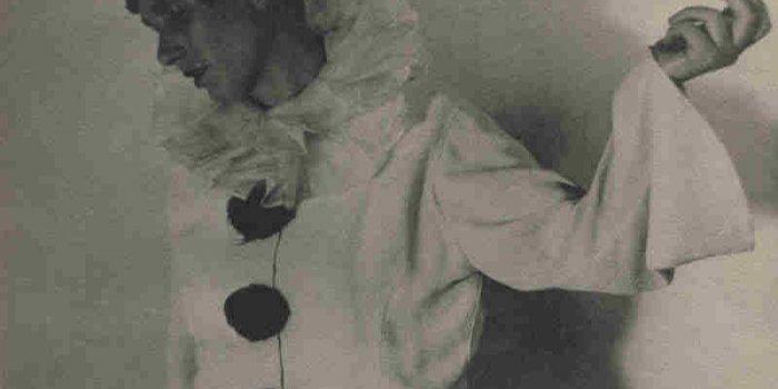 Erika Mann Jako Pierotka V Kabaretu Pfeffermühle, Mnichov 1934. Kredit: Mnichovská Městská Knihovna / Monacensia