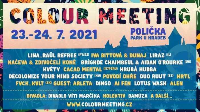 Colour Meeting 2021: Hudba, Divadlo, Workshopy I Domácí Kuchyně V Krásném Prostředí Poličky