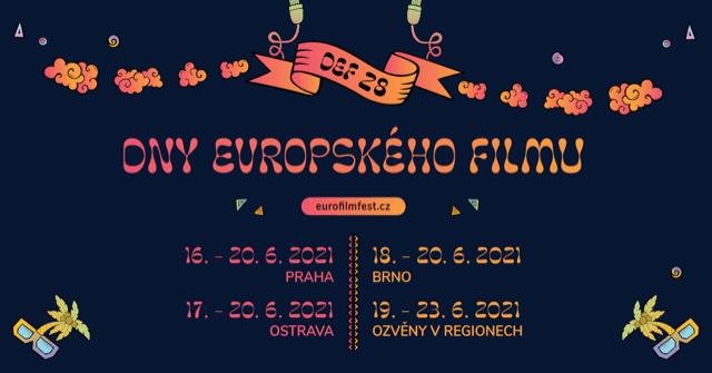Příští Týden Začínají 28. DNY EVROPSKÉHO FILMU