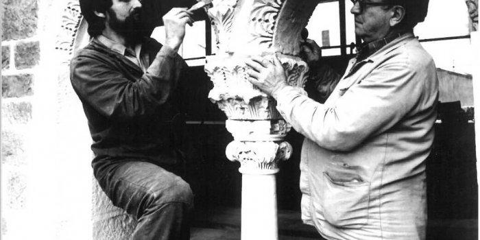 Ladislav Werkmann A Aleš Rozehnal, 80. Léta, Zdíkův Palác - Foto Ladislav Galgonek