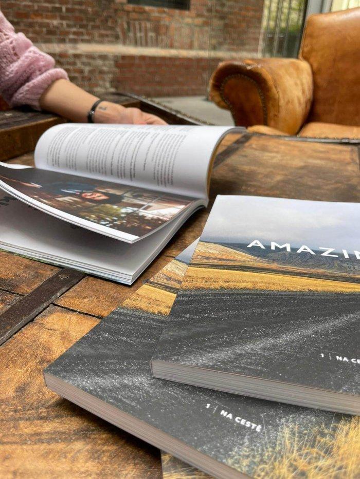 Amazing Magazin – Nový Tištěný časopis Pro Fanoušky Cestování