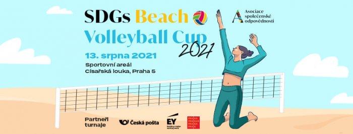 SDGs Beach Volleyball Cup: Přihlášky Do Turnaje Jsou Otevřeny Do Konce června