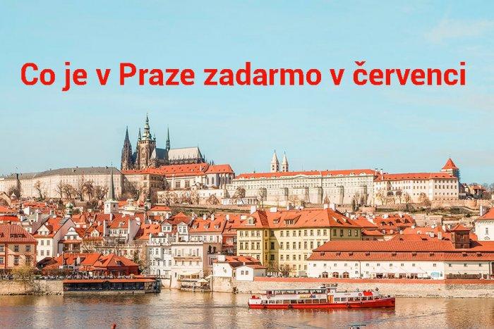 Co Je V Praze Zadarmo V červenci 2021