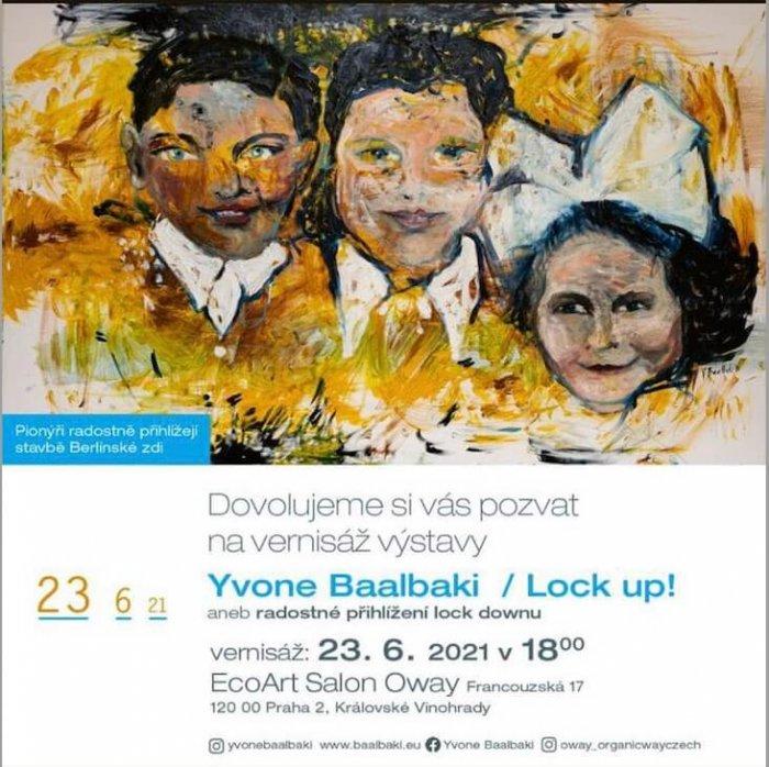Umělkyně Yvone Baalbaki Vítá Rozvolnění Výstavou
