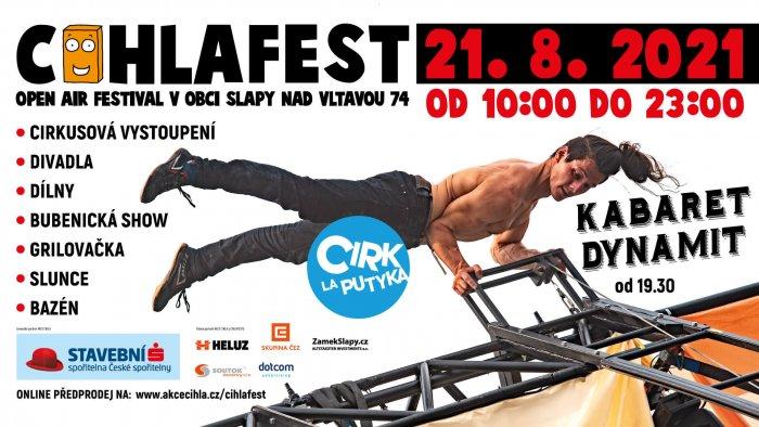 CIHLAFEST Zažije Premiéru Nového Představení Cirku La Putyka