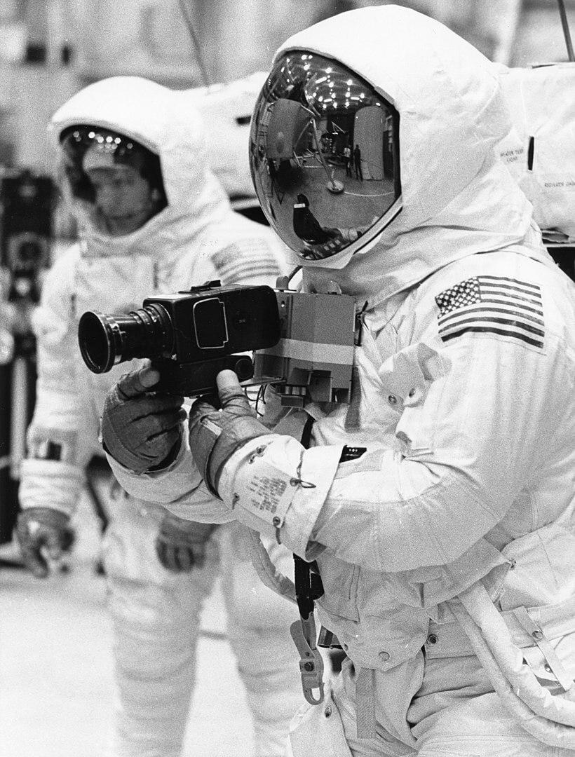 Apollo 11 - výcvik, foto NASA