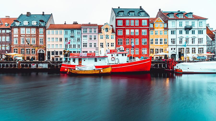 Invia.cz_Nyhavn, København K, Dánsko