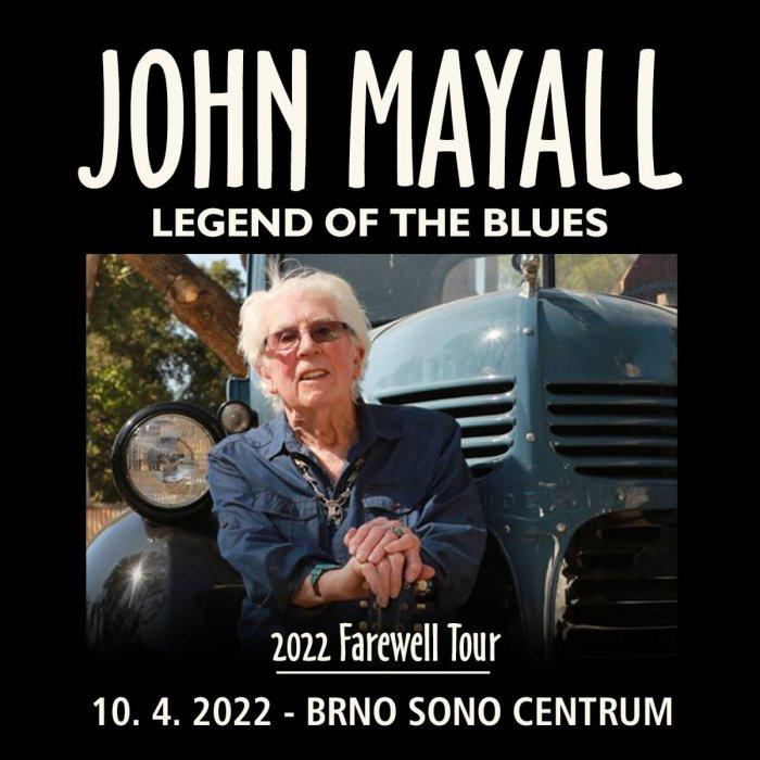 John Mayall V Rámci Svého Turné Zavítá I Do Česka