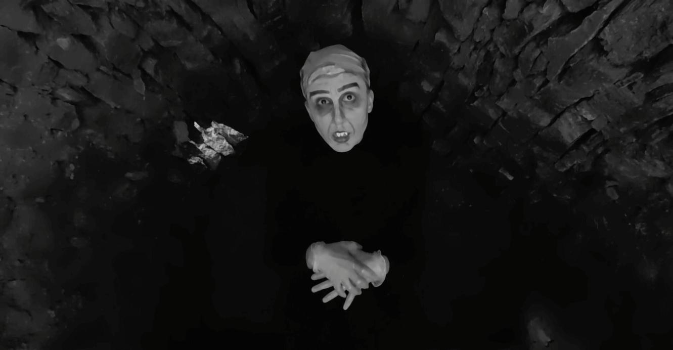 Kateřina Dudová, studentka Kateřina Dudová jako Upír Nosferatu (Jak hrát ve filmu?)