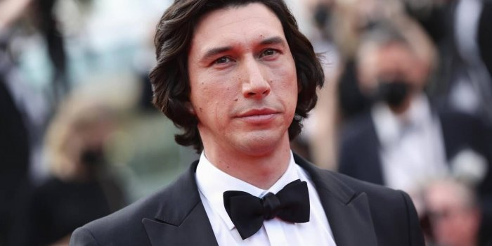 """CANNES, FRANCE - JULY 06: Adam Driver attends the """"Annette"""" screening and opening ceremony during the 74th annual Cannes Film Festival on July 06, 2021 in Cannes, France. (Photo by Vittorio Zunino Celotto/Getty Images for Kering)"""