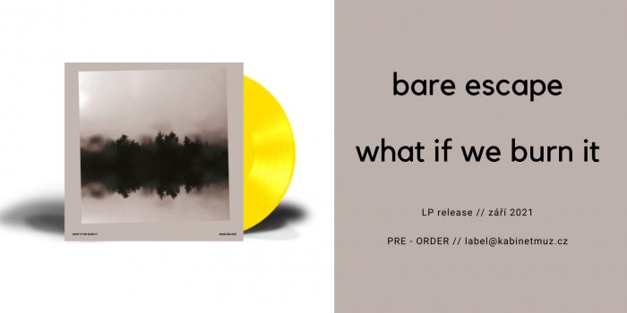 Bare Escape What If We Burn It