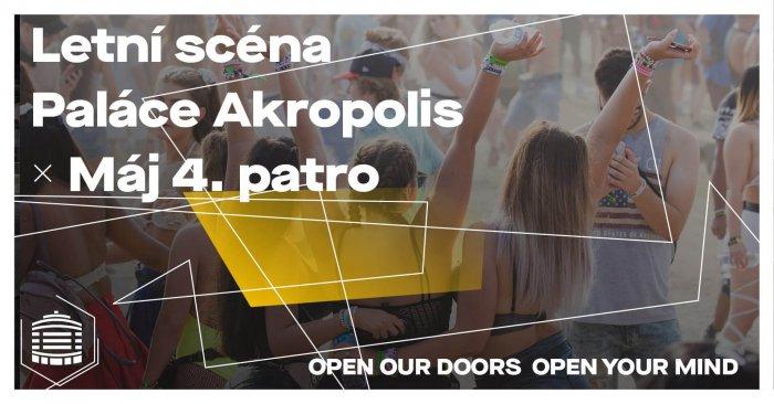 Terasa, Pohoda, Tanec. Palác Akropolis Otevírá Letní Scénu