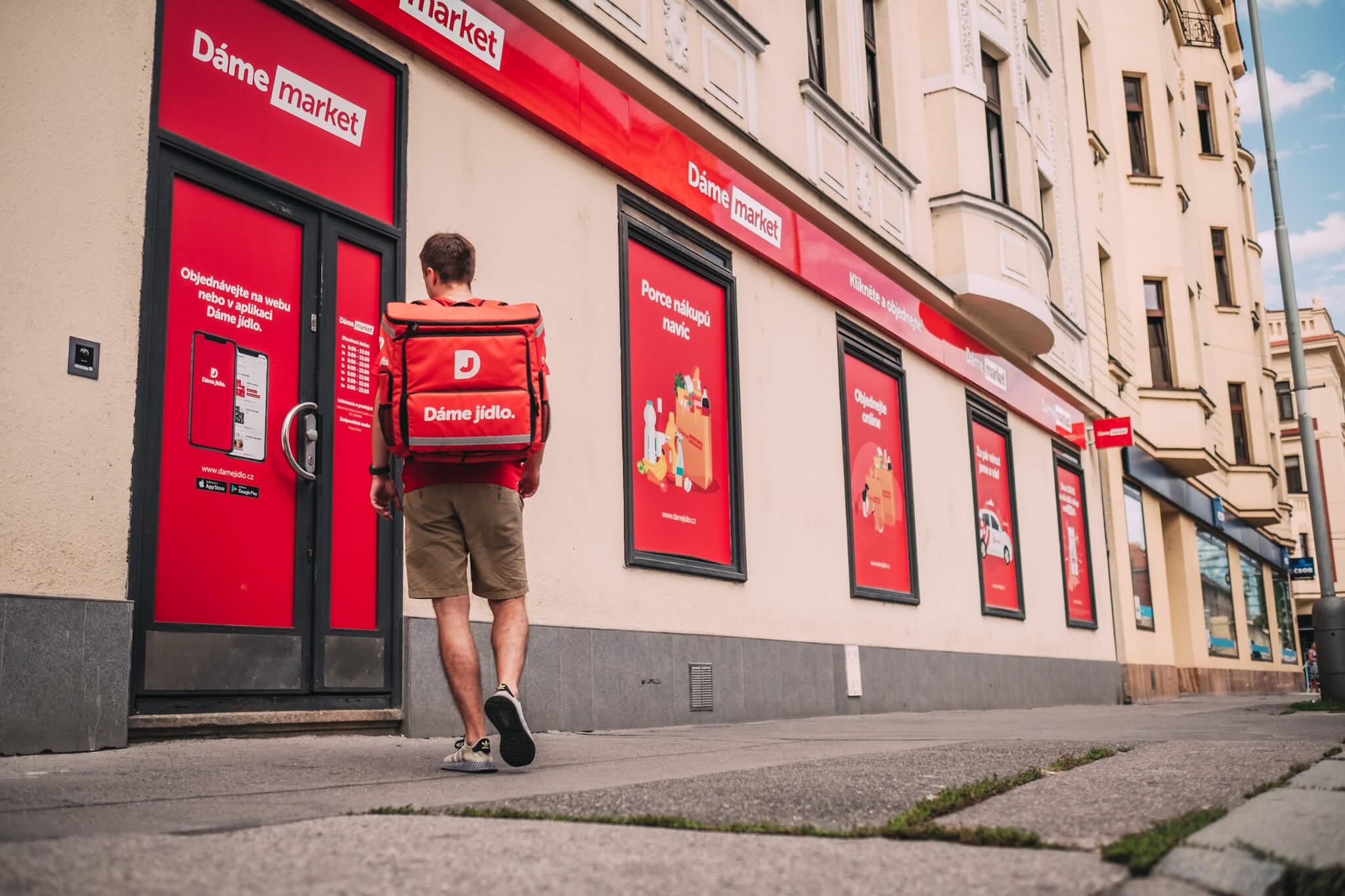 Dáme Market Sklad Praha ©Dáme Jídlo