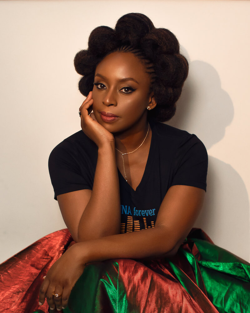 Chimamanda Ngozi Adichie (c) Manny Jefferson