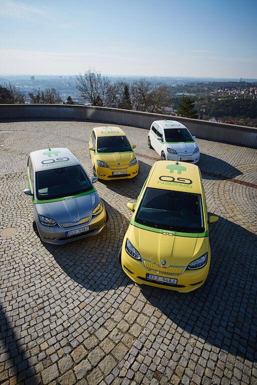Jediný Pražský Elektrický Carsharing GreenGo Se Rozrůstá O 30 Vozů Škoda Citigo-e IV
