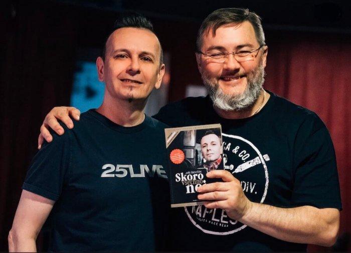 Vychází Audiopodoba Knihy Jiří Ševčík – Skoro Všechno Nej