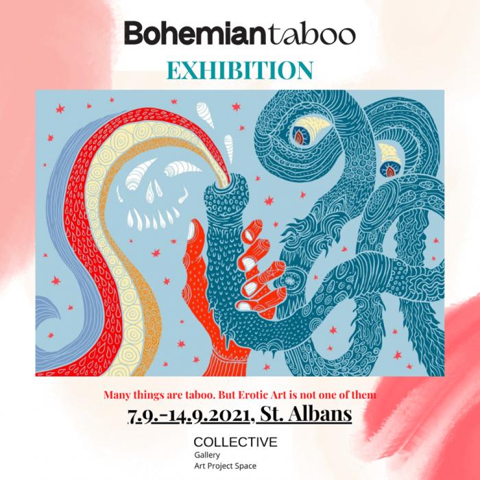Bohemian Taboo Vystavuje Erotic Art Ve Velké Británii